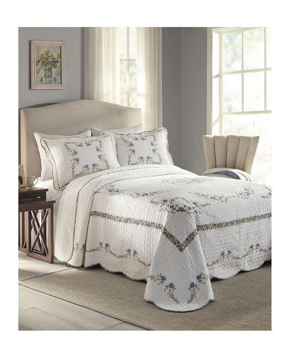Modern Heirloom Heather Full Bedspread