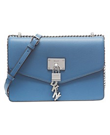 Elissa Leather Chain Strap Shoulder Bag, Created for Macy's