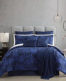 Bon-Nuit 14 PC CalKing Comforter Set