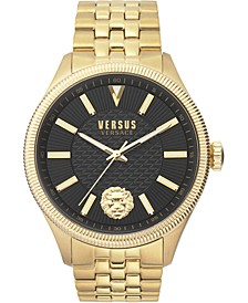 Men's Colonne Gold-Tone Stainless Steel Bracelet Watch 45mm