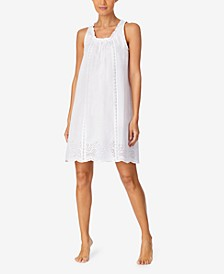 Cotton Chemise Nightgown