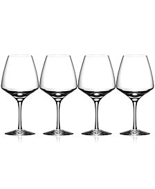 Orrefors Pulse Wine Glasses, Set of 4