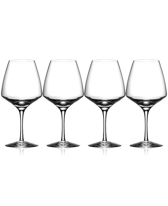 Orrefors Pulse Wine Glasses, Set of 4