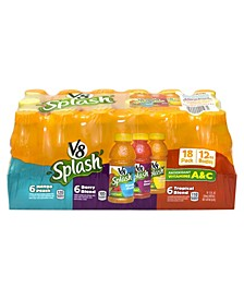 Splash Juice Variety Pack, 12 oz, 18 Count