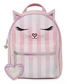 Big Girls Miss Bella Striped Mini Backpack