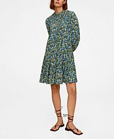 Printed Stretch Dress