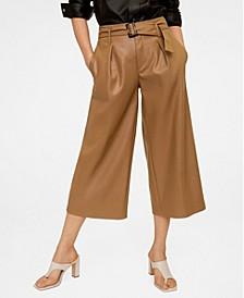 Belt Culottes Trousers