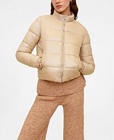Side Zip Quilted Coat