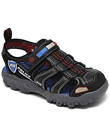 Little Boy's Hot Lights Damager lll - Sand Patrol Sport Sandals from Finish Line