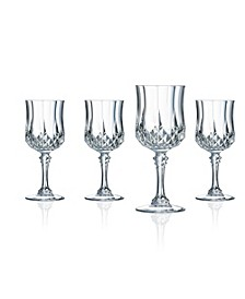 Cristal D'Arques Cordial Glasses 2 oz 4 Piece Set