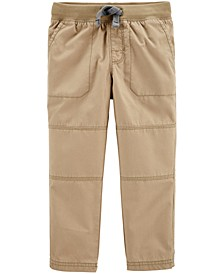 Toddler Boy Pull-On Reinforced Knee Pants