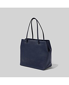 Logo Shopper East West Tote Bag