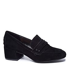 Women's Marilyn Block Heel Loafers