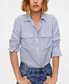 Patch Pocketed Shirt