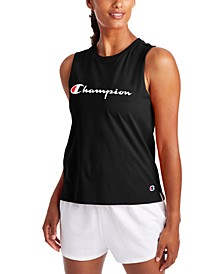 Women's Performance Logo Tank Top
