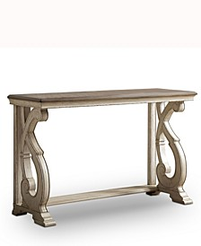 Georgette Wood Sofa Table