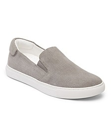 Women's Perforated Slip On Sneakers