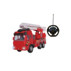 Nkok Supreme Machines Rc Fire Ladder Truck toy Vehicle