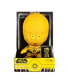 "Star Wars Medium Heroez 7"" Plush Pin Set C-3Po"