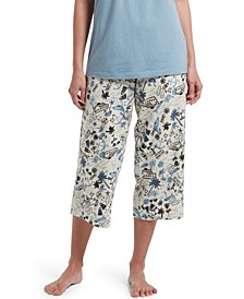 Women's Beach Travel Classic Capri Pajama Pants