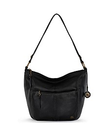 Iris Leather Small Hobo