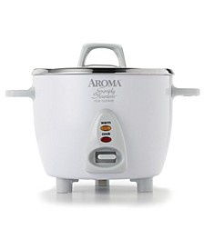 ARC-753SG Simply Stainless 6 Cup Cooked Rice Cooker