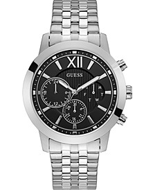 Men's Stainless Steel Bracelet Watch 45mm