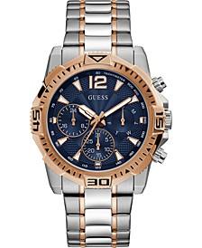 Men's Two-Tone Stainless Steel Bracelet Watch 43mm