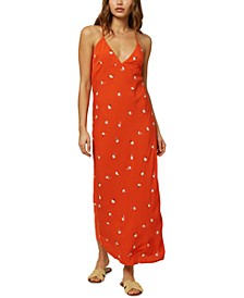 Juniors' Izzy Printed Tank Maxi Dress