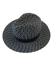 Marled Panama Hat