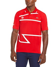 Men's Sport Novak Djokovic Ultra-Dry Printed Polo