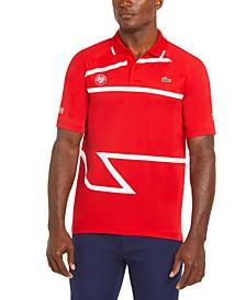 Men's Sport Novak Djokovic Ultra-Dry Printed Polo