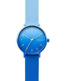 Women's Aaren Kulor Blue Ombré Silicone Strap Watch 36mm