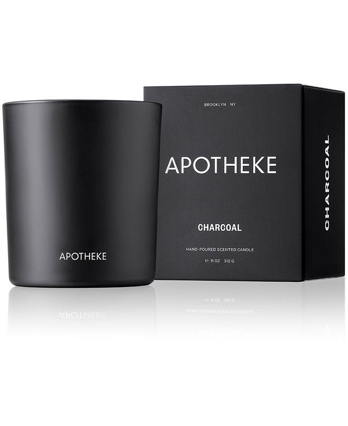 APOTHEKE - Charcoal Candle, 11-oz.