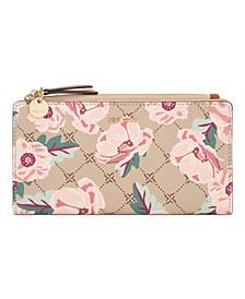 Clare Slim Zip Wallet