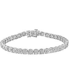 EFFY® Diamond Tennis Bracelet (1/4 ct. t.w.) in Sterling Silver