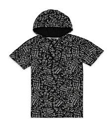 Men's Ancient Static Hoodie T-shirt