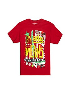 Men's by Any Means Necessary Tee