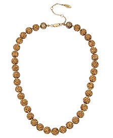 New York Caviar Beaded Collar Necklace
