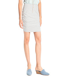 Synergy Organic Clothing Ruched Mini Skirt