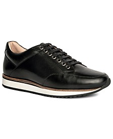 Barack Court Men's Leather Sneaker