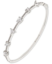 Mixed-Crystal Bangle Bracelet