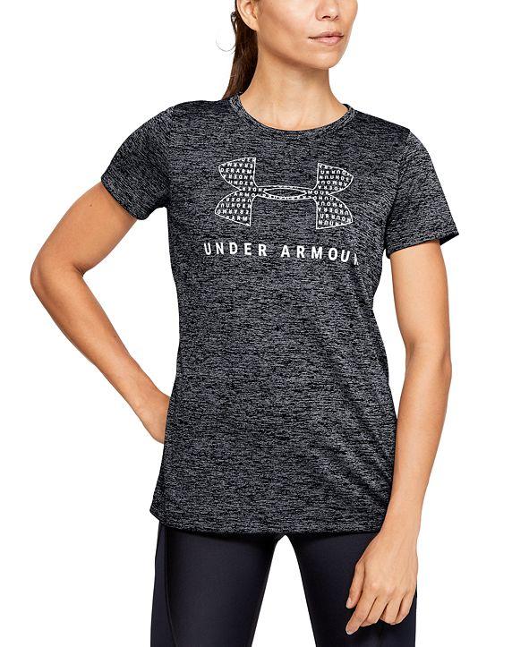 Under Armour Women's UA Tech Logo T-Shirt