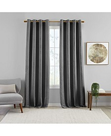 "Huxley Geometric 52"" x 84"" Blackout Curtain Panel"