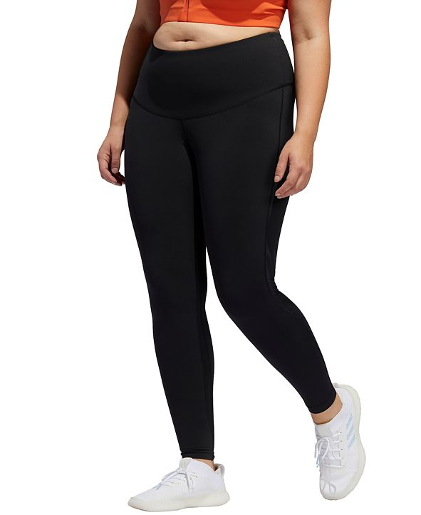 adidas Plus Size High-Rise Leggings