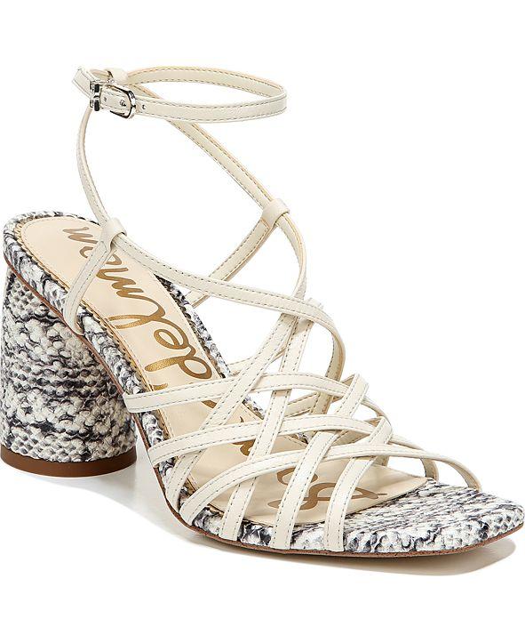 Sam Edelman Daffodil Woven City Sandals