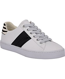 Parti Lace-Up Sneakers