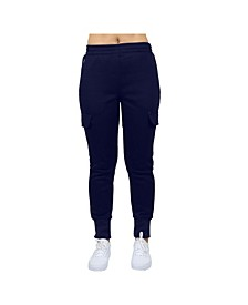 Women's Cargo Fleece Jogger Sweatpants