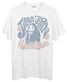 Cotton Janis Joplin Graphic T-Shirt