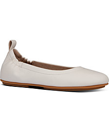 FitFlop Women's Allegro Leather Ballerinas Flats